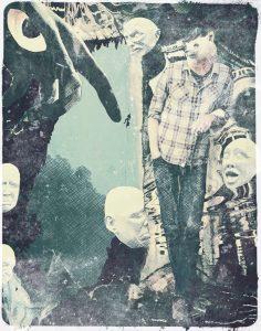 The Dali Museum's 2021 Student Surrealist Exhibit Online: Pinellas, Artwork by Megan Jones Alter Egos Clearwater Fundamental Teacher: Karen Santangelo Grade 7
