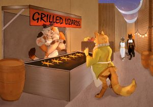 The Dali Museum's 2021 Student Surrealist Exhibit Online: Pinellas, Artwork by Jayda Emerson Desire of Flesh Gibbs High Teacher: Brian McAllister Grade 11