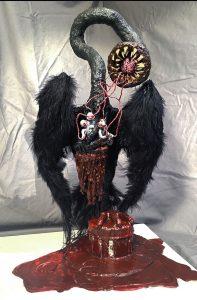 The Dali Museum's 2021 Student Surrealist Exhibit Online: Pinellas, Artwork by Maggie Mckay Regenesis in the Age of Apocalypse Gibbs High Teacher: Steve Beverage Grade 12