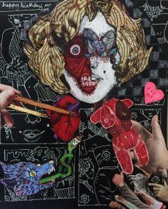 The Dali Museum's 2021 Student Surrealist Exhibit Online: Pinellas, Artwork by Sidney Meiers Diamonds Are A Girls Best Friend Palm Harbor University High Teacher: Wipoj Huse Grade 12