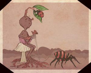 The Dali Museum's 2021 Student Surrealist Exhibit Online: Pinellas, Artwork by Kylie Parker Little Bean Knitting Boca Ciega High Teacher: Adam Crump Grade 12