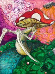 The Dali Museum's 2021 Student Surrealist Exhibit Online: Pinellas, Artwork by Isaiah Sizemore Fate Countryside High Teacher: Maria Andersen Grade 12