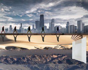 The Dali Museum's 2021 Student Surrealist Exhibit Online: Pinellas, Artwork by Miranda Wenners Shadowed Opportunity Pinellas Park High Teacher: Dana Smalley Grade 9