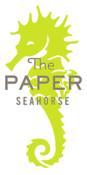 Paper Seahorse Logo