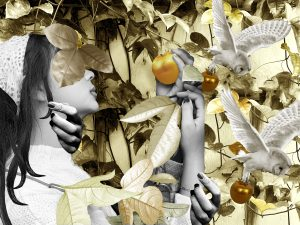 The Dali Museum's 2021 Student Surrealist Exhibit Online: Pinellas, Artwork by Kailani Ryan Athenas Vines Tarpon Springs High Teacher: Jessica Marmorale Grade 10