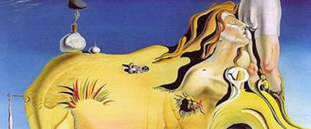 "Salvador Dali's ""The Great Masturbator"""
