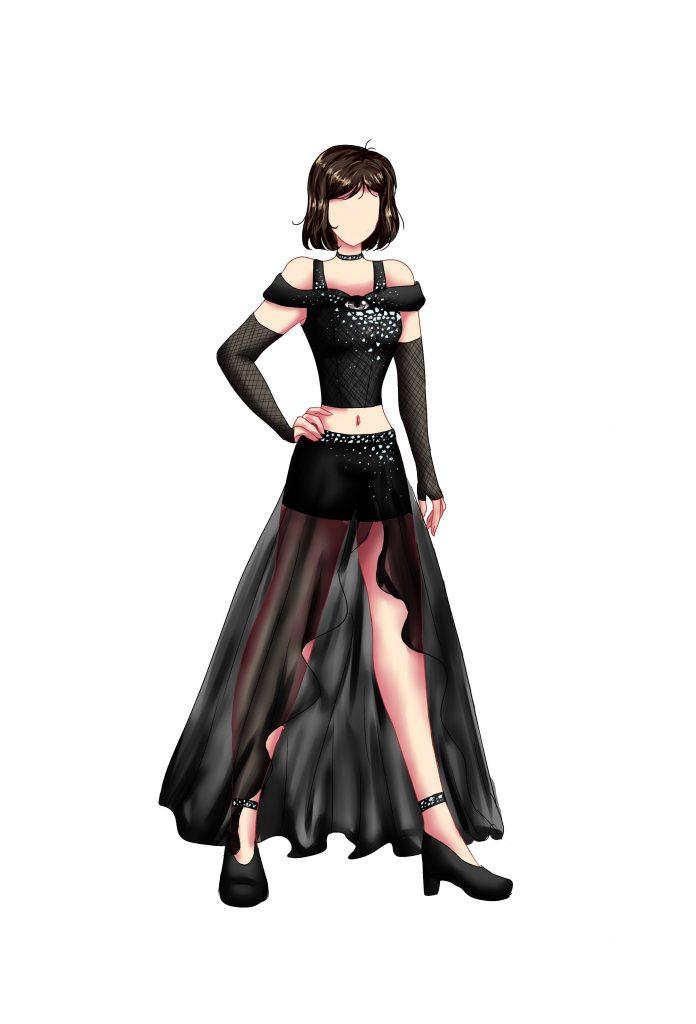 Teen Fashion rendering by Brielle Hernandez