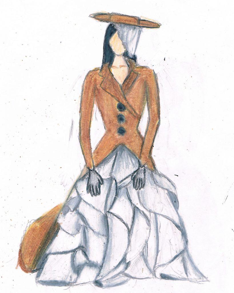 Teen Fashion rendering Dana Smith
