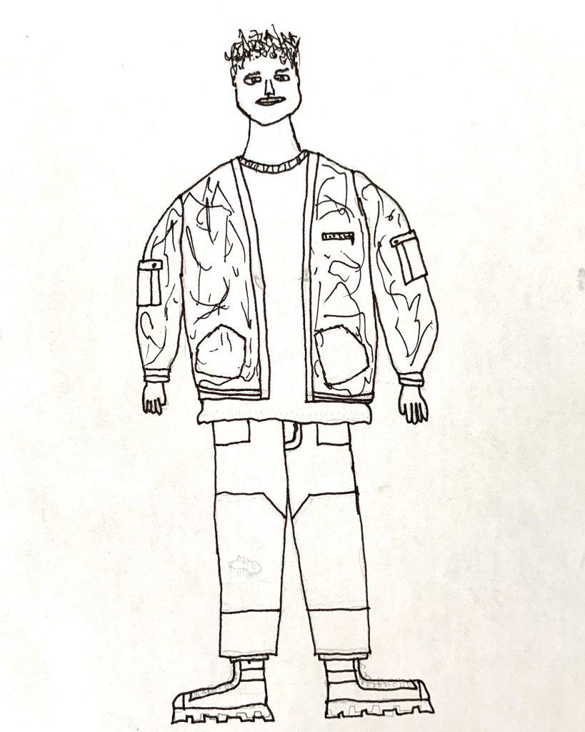 Teen Fashion rendering by Eli Ulrich