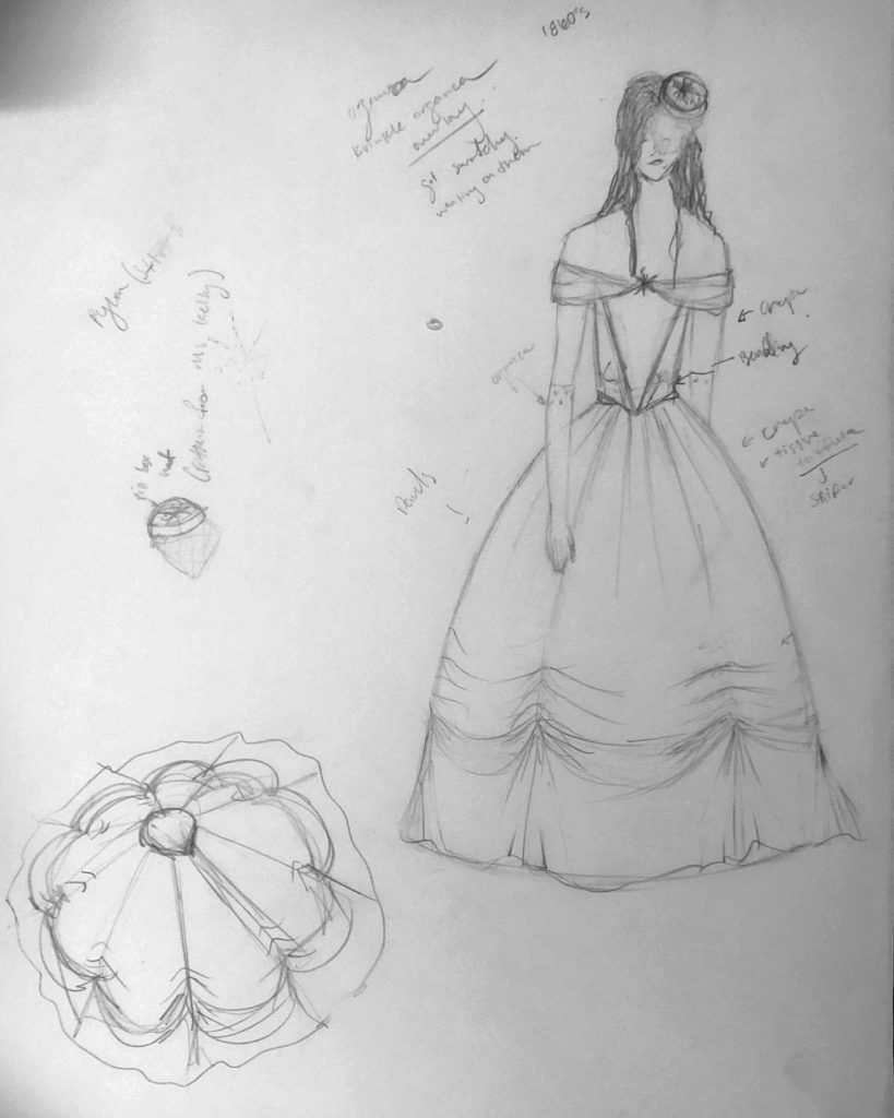 Teen Fashion rendering by Eva