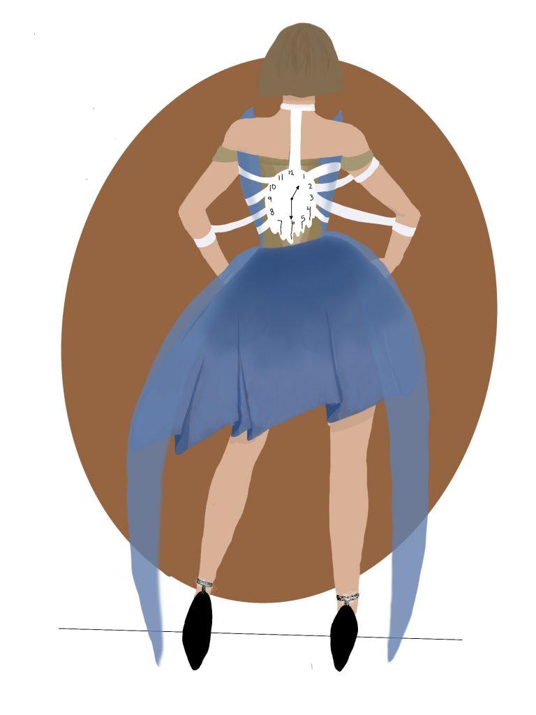 Teen Fashion rendering by Kailee Kurzawinski