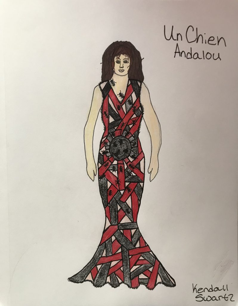 Teen Fashion rendering by Kendall Swartz