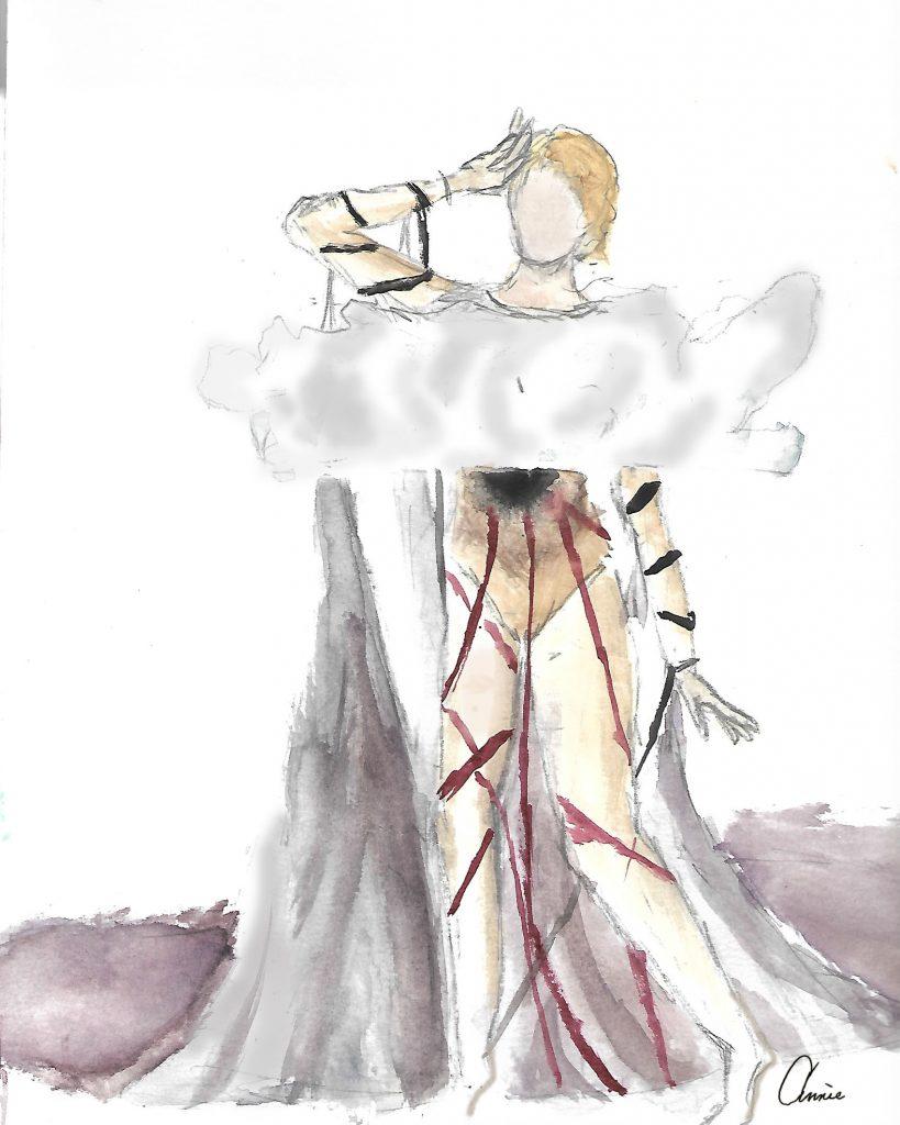 Teen Fashion rendering by Miller, Annie