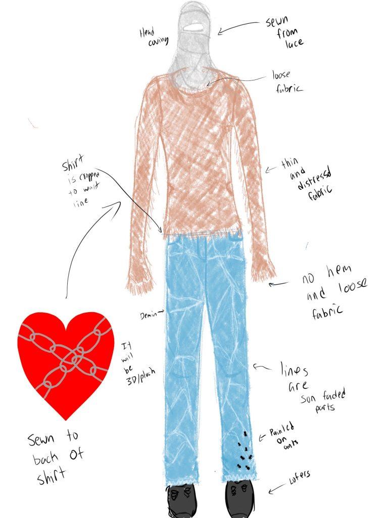 Teen Fashion rendering by Nico Farmer