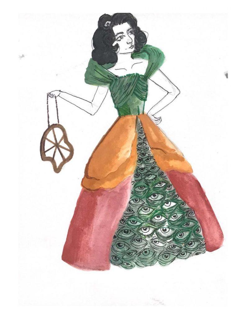 Teen Fashion rendering by Skylar Parker