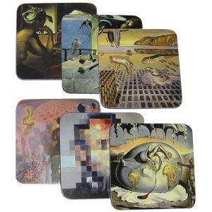 Dali Museum Store, Artful Coasters