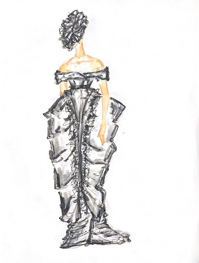 Teen Fashion rendering by Will Zornek