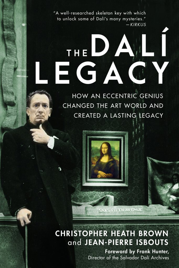 The Dalí Legacy book, coauthor Prof. Jean-Pierre Isbouts