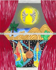 The Dali Museum's 2021 Student Surrealist Exhibit Online art by Callie Merrill