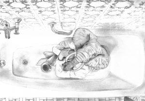 The Dali Museum's 2021 Student Surrealist Exhibit Online art by Cheyenne Muldowney