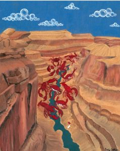 The Dali Museum's 2021 Student Surrealist Exhibit Online art by Emily Seltzer