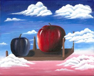 The Dali Museum's 2021 Student Surrealist Exhibit Online art by Faith Young