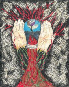The Dali Museum's 2021 Student Surrealist Exhibit Online art by Gabrielle Echenique