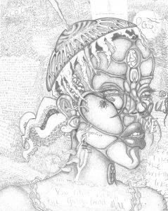 The Dali Museum's 2021 Student Surrealist Exhibit Online art by Kaitlyn Heinzelmann