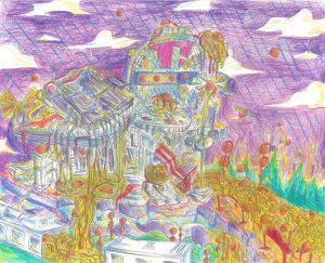 The Dali Museum's 2021 Student Surrealist Exhibit Online art by Kaylin Guerrero