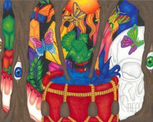 The Dali Museum's 2021 Student Surrealist Exhibit Online art by Kylie Burt