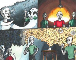 The Dali Museum's 2021 Student Surrealist Exhibit Online art by Lianet Medina Cruz