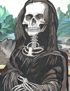 The Dali Museum's 2021 Student Surrealist Exhibit Online art by Macy Purvis