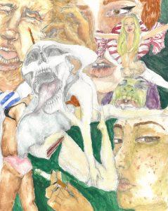 The Dali Museum's 2021 Student Surrealist Exhibit Online art by Madison Parker