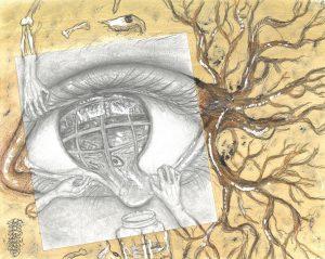 The Dali Museum's 2021 Student Surrealist Exhibit Online art by Michelina Schach