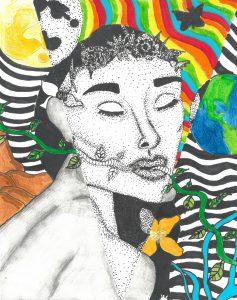 The Dali Museum's 2021 Student Surrealist Exhibit Online art by Nina Tulshi