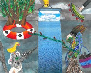 The Dali Museum's 2021 Student Surrealist Exhibit Online art by Preksha Jain
