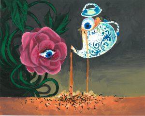 The Dali Museum's 2021 Student Surrealist Exhibit Online art by Sabrina Valencia