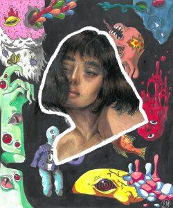 The Dali Museum's 2021 Student Surrealist Exhibit Online art by Sophia Gunnin