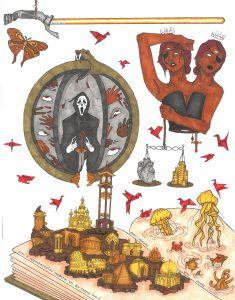 The Dali Museum's 2021 Student Surrealist Exhibit Online art by Sraddha Karthik