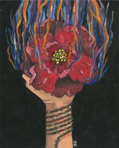 The Dali Museum's 2021 Student Surrealist Exhibit Online art by Zuhé Costa