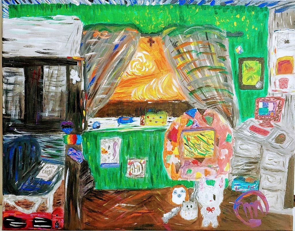 Paint Your Bedroom Contest Entry, Mia Nazario