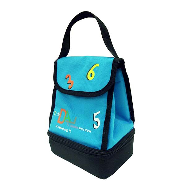 Melting Clock Lunch Bag