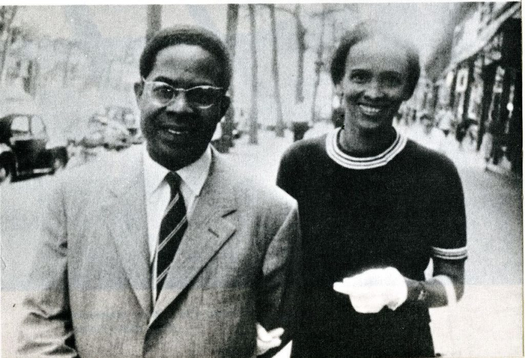 Aime and his wife, Suzanne Cesaire