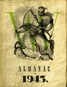 Cover of surrealist journal, VVV no.2-3, 1943