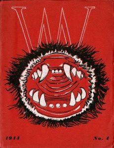 Cover of surrealist journal, VVV, no.4, 1944