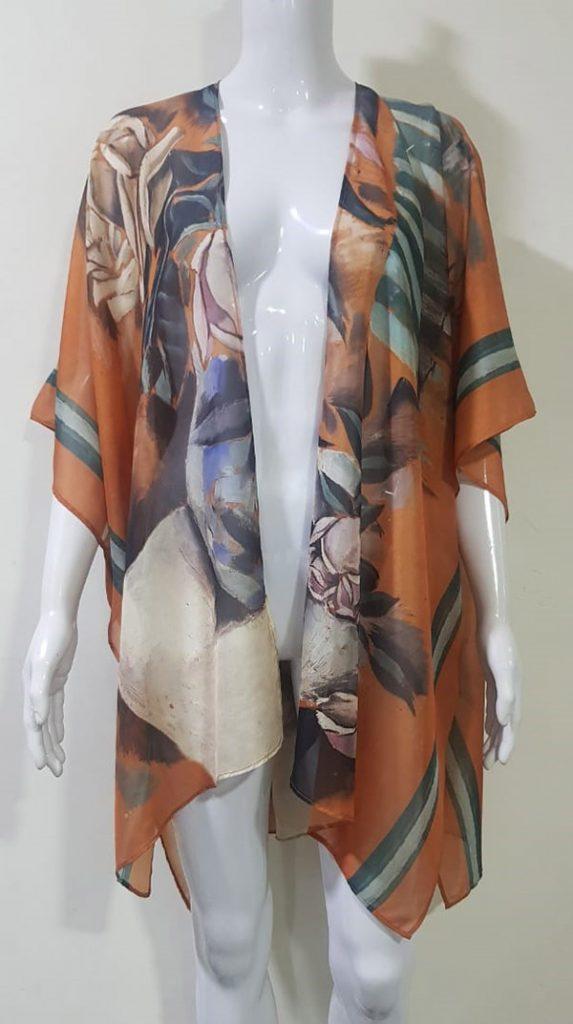 Salvador Dali Bouquet kimono from The Dali Museum Store