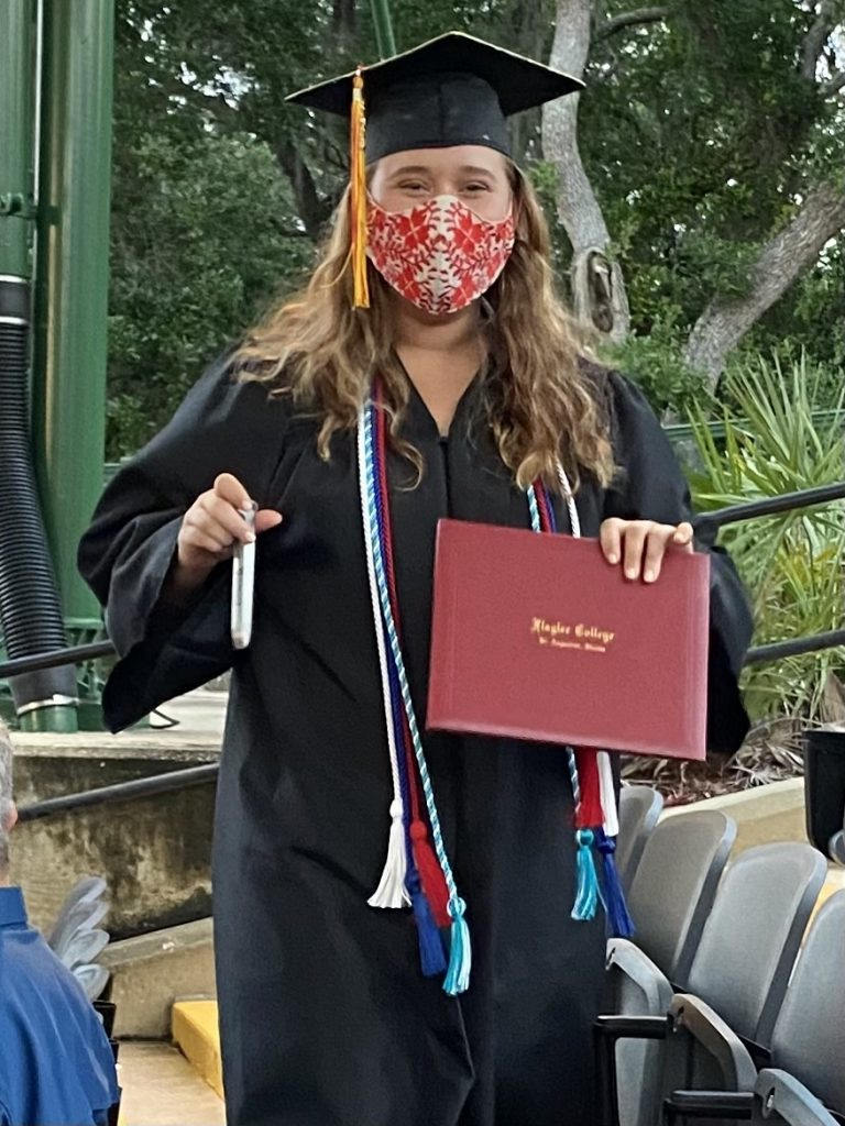 2021 graduation: Staying positive in a pandemic with the new normal by Jennifer Hand
